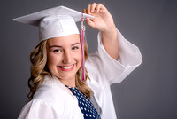 Paige Cates Cap&Gown Mini